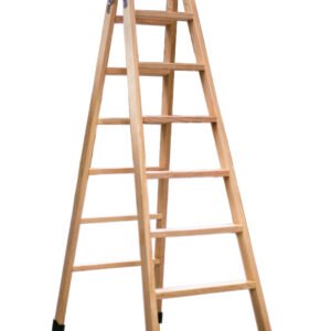 escalera multiusos madera